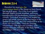 hebrews 2 1 4