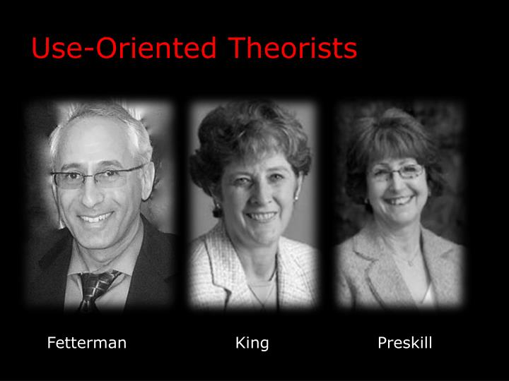 Use-Oriented Theorists
