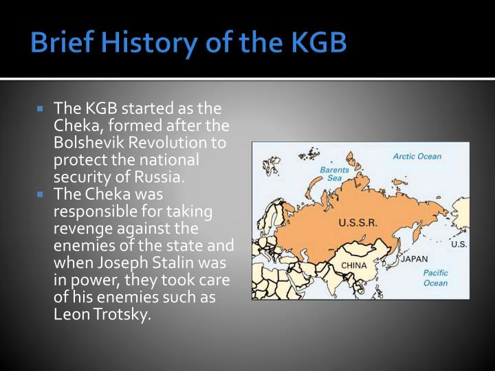 Brief history of the kgb