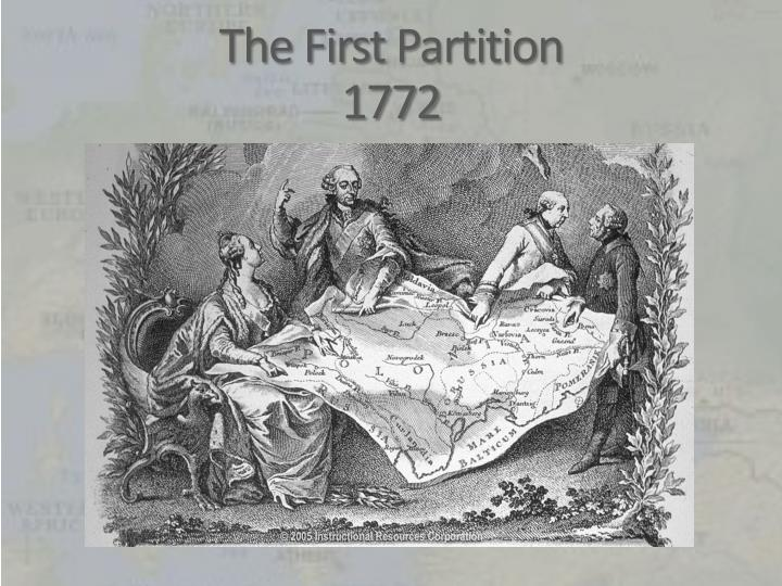 The first partition 17721