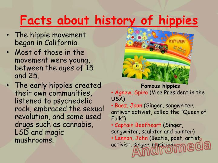 Facts about history of hippies