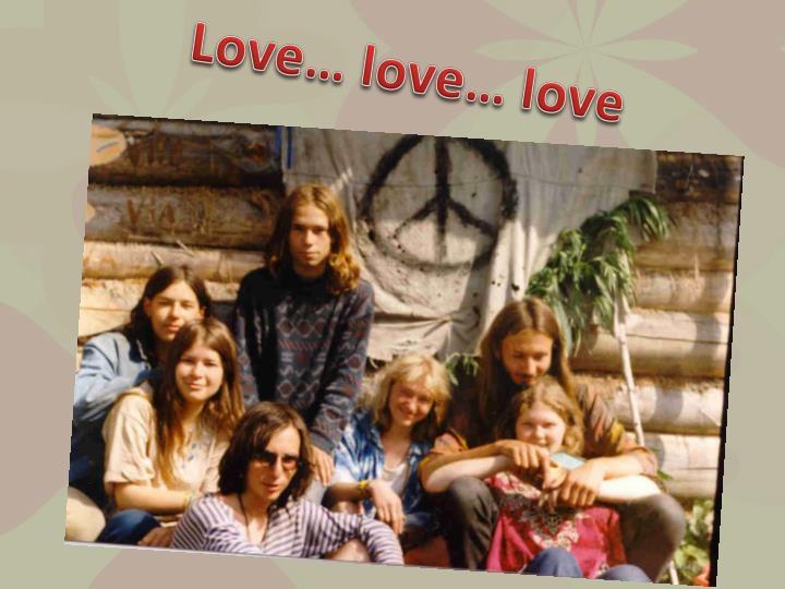 Love… love… love