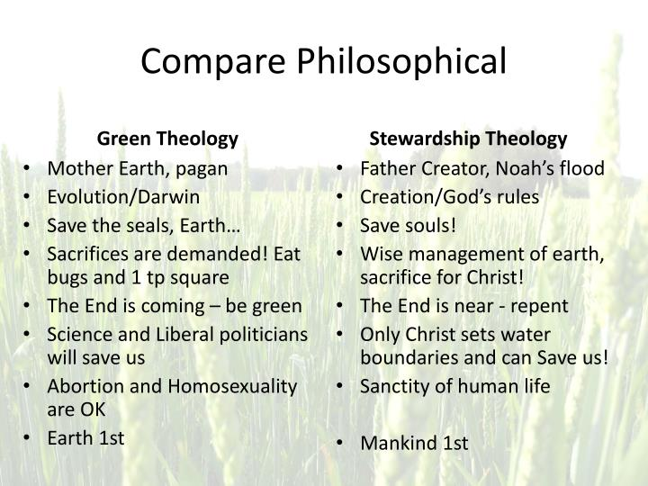 Compare Philosophical