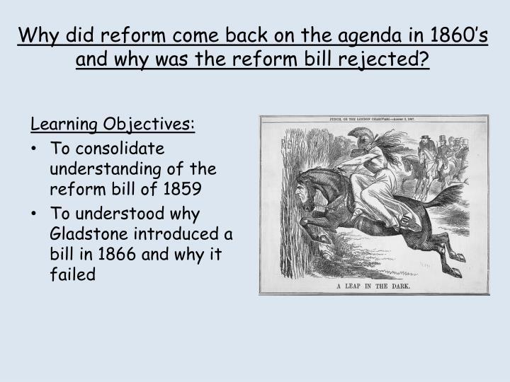 1867 reform act