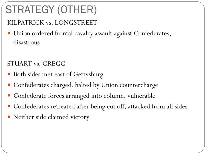 STRATEGY (OTHER)