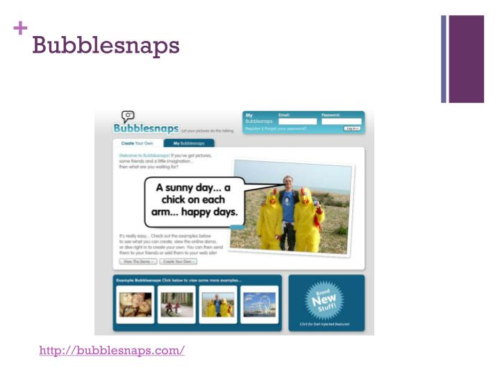 Bubblesnaps