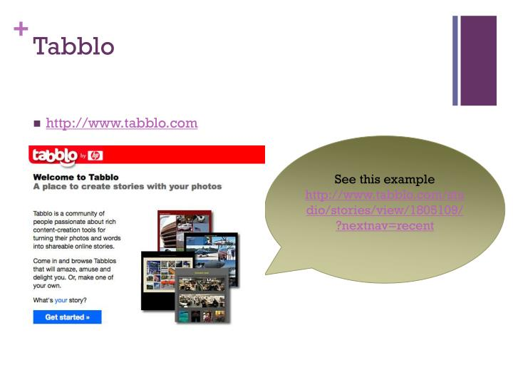 Tabblo