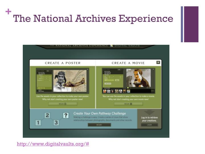 The National Archives Experience
