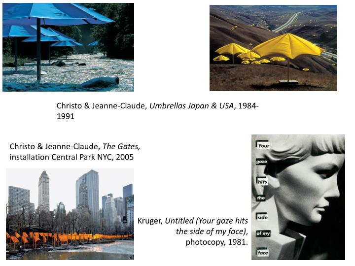 Christo & Jeanne-Claude,