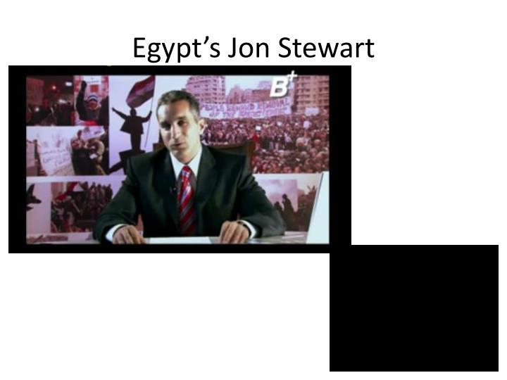 Egypt's Jon Stewart