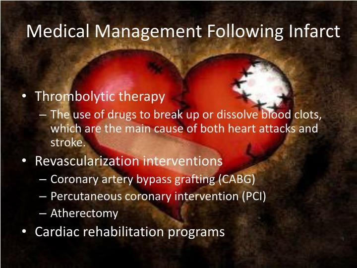 Medical Management Following Infarct
