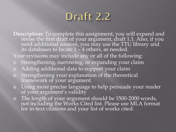 Draft 2.2