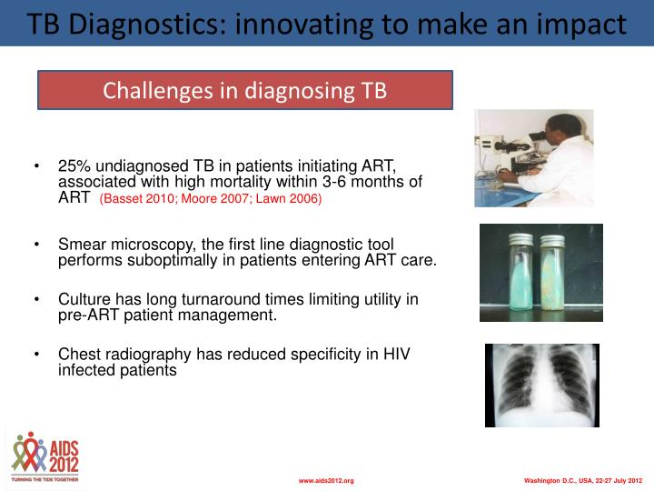 TB Diagnostics: innovating to make an impact