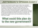 jefferson s opinion cont
