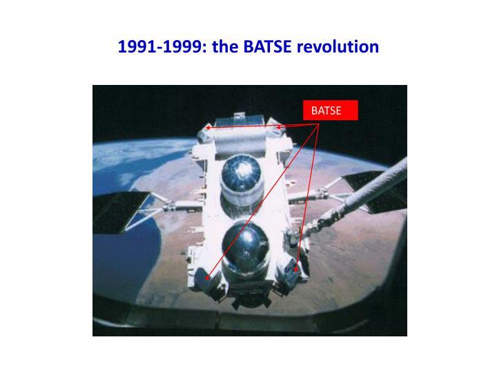 1991-1999: the BATSE