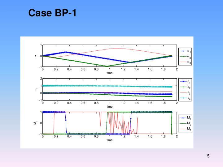 Case BP-1