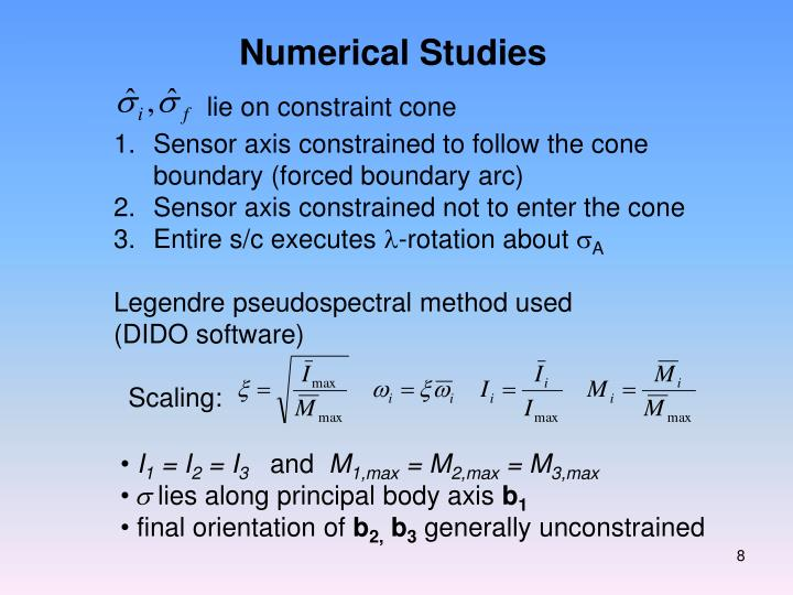 Numerical Studies