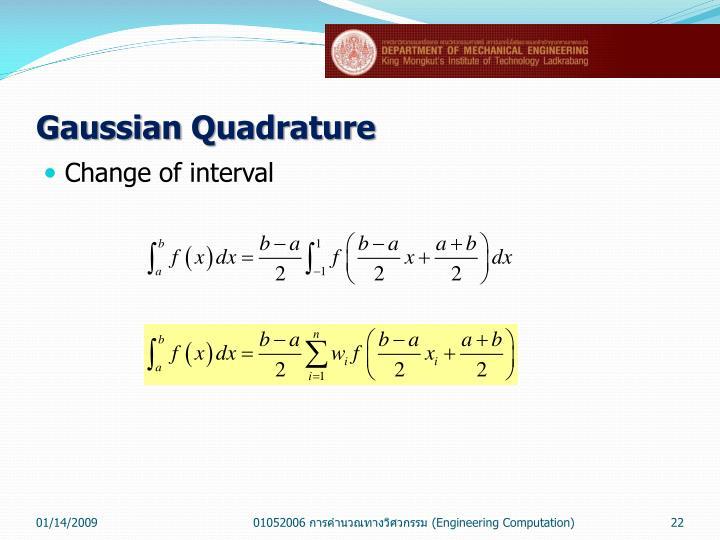 Gaussian