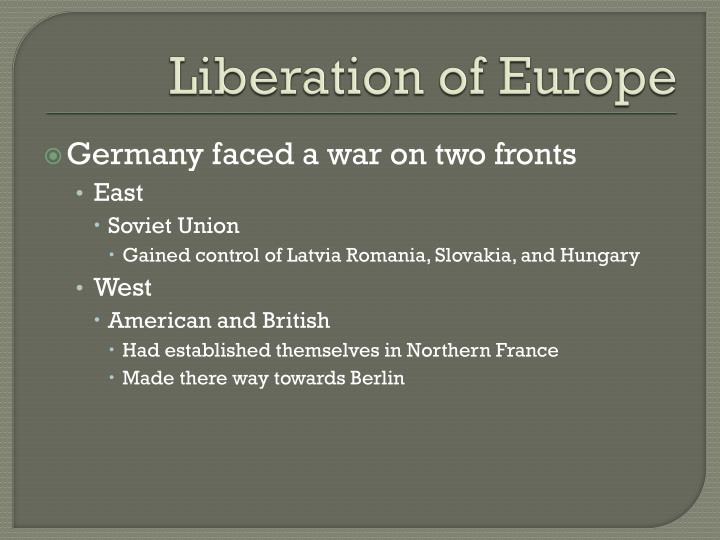 Liberation of Europe