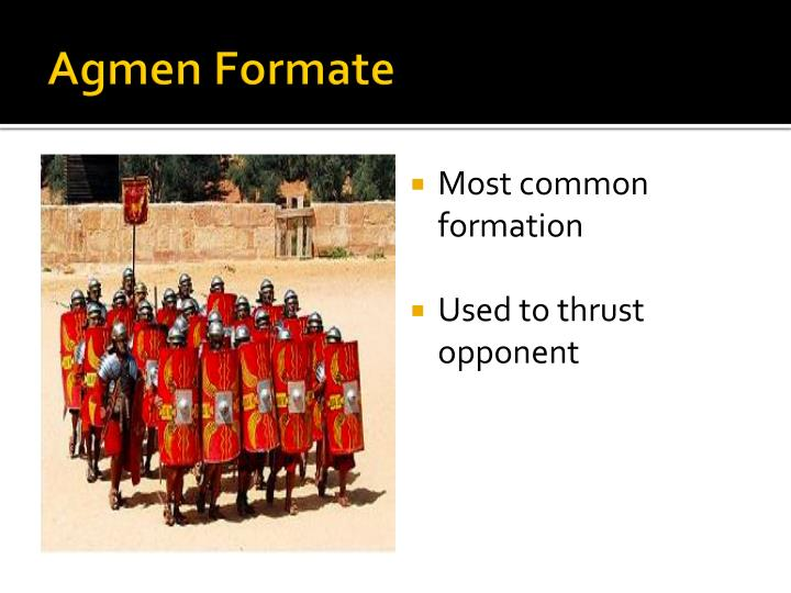 Agmen Formate