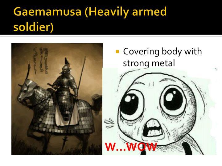 Gaemamusa (Heavily armed soldier)