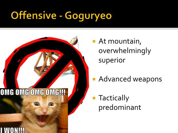 Offensive - Goguryeo