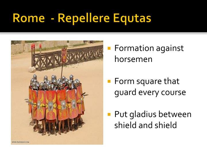 Rome  - Repellere Equtas
