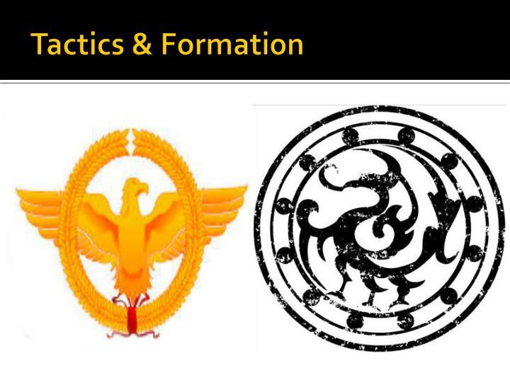 Tactics & Formation