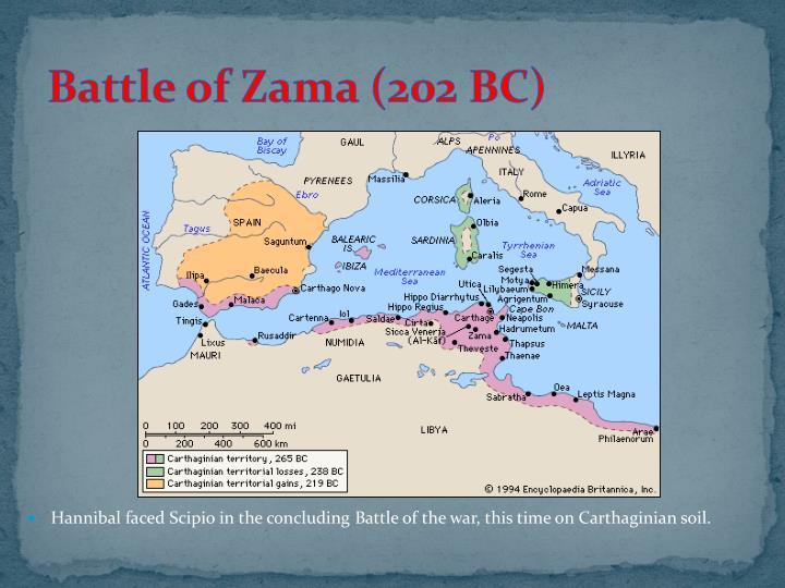 Battle of Zama (202 BC)
