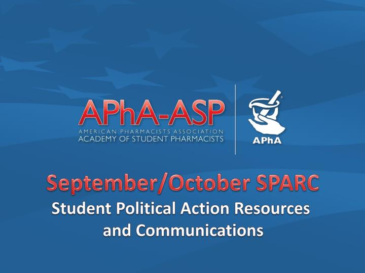 September/October SPARC