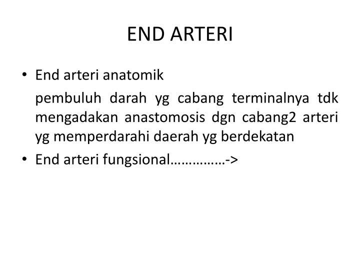 END ARTERI
