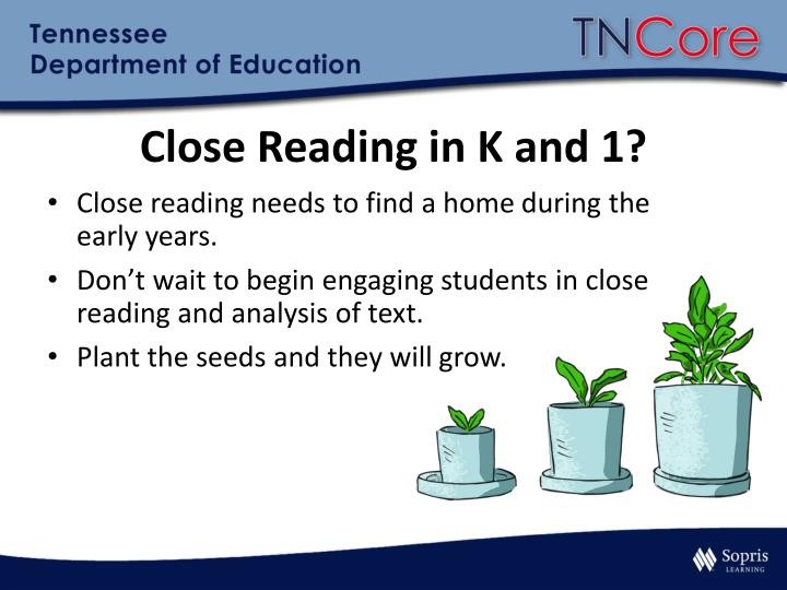 Close Reading in