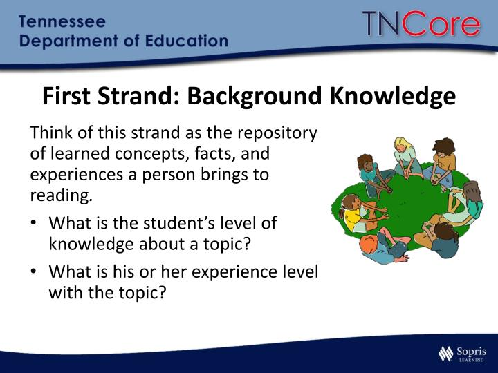 First Strand: Background Knowledge