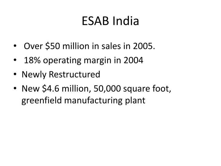 ESAB India