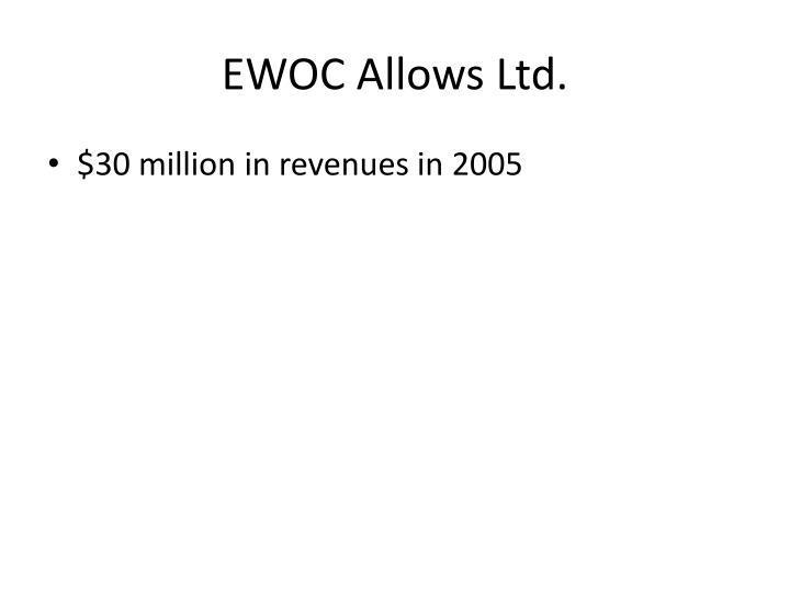 EWOC Allows Ltd.