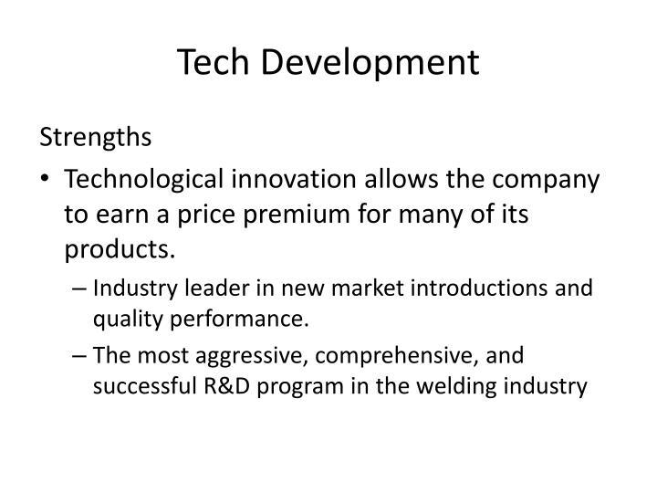 Tech Development