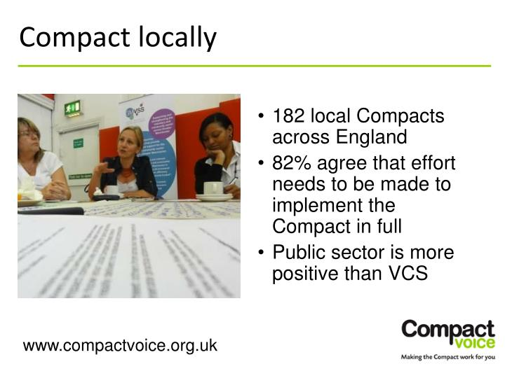 Compact locally