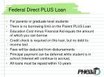 federal direct plus loan