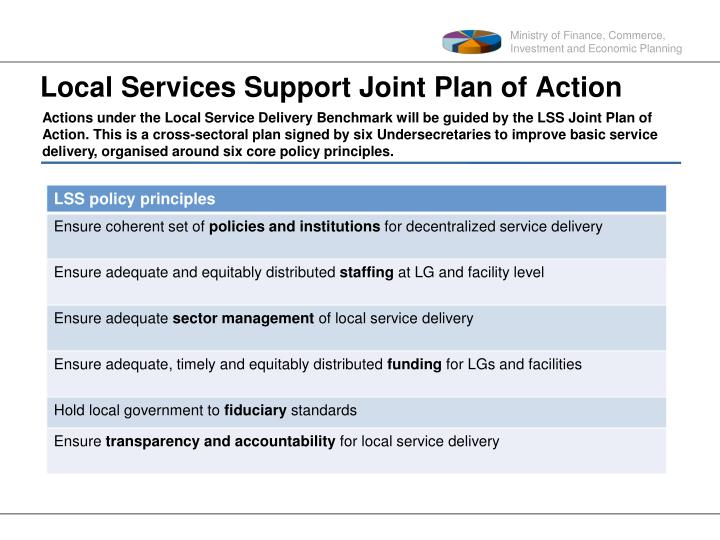 Local Services Support Joint
