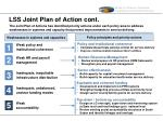 lss joint plan of action cont