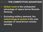 the competitive advantage