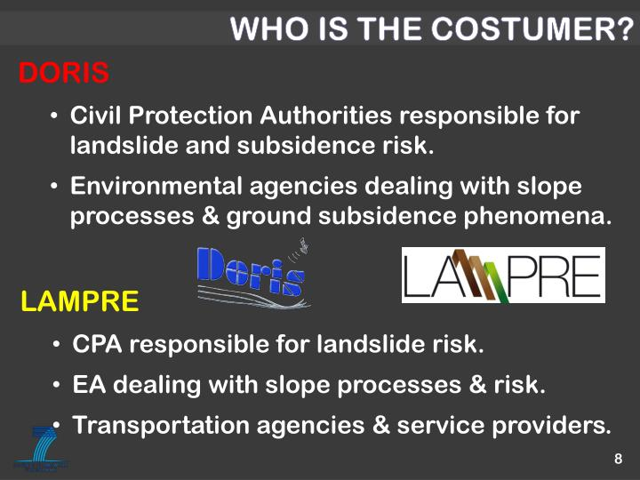 WHO IS THE COSTUMER?