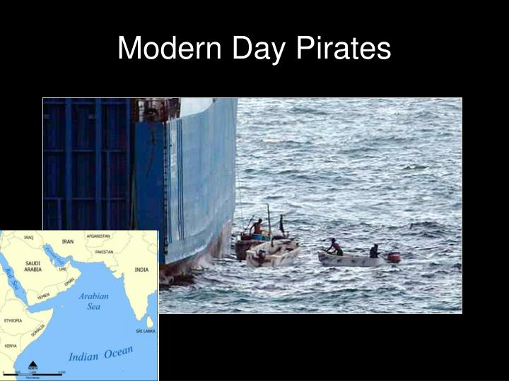 Modern Day Pirates