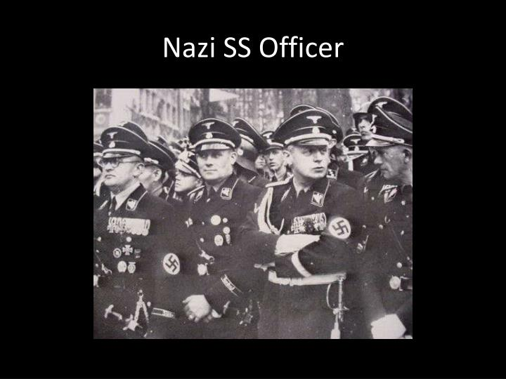 Nazi SS Officer