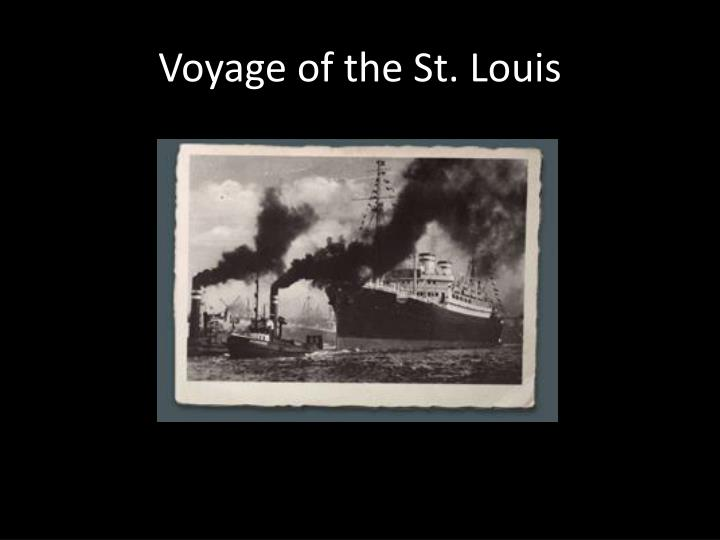 Voyage of the St. Louis