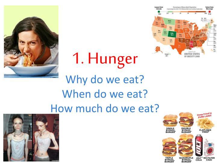 1. Hunger