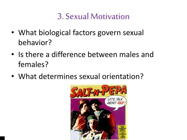 3. Sexual Motivation
