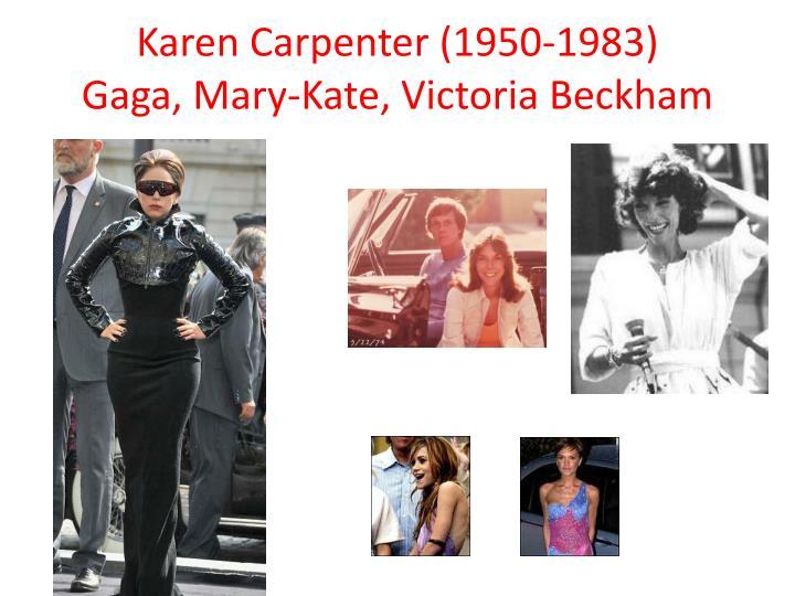 Karen Carpenter (1950-1983
