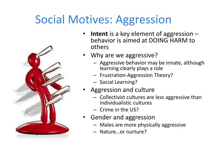 Social Motives: Aggression
