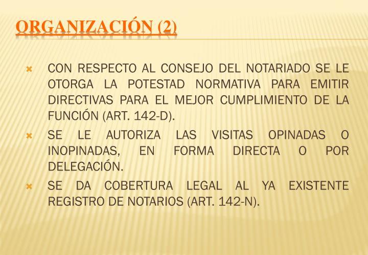 ORGANIZACIÓN (2)